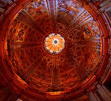 A ceiling inside the duomo firenze. by kiran mulholland