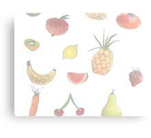 Pale Fruit Metal Print