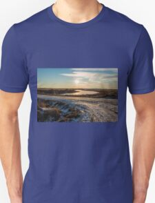Cold Icy Road Unisex T-Shirt