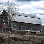 Faithful Old Barn by Richard Bean