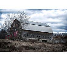 Faithful Old Barn Photographic Print