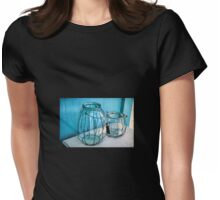 Glassware ~ Impressions Womens Fitted T-Shirt