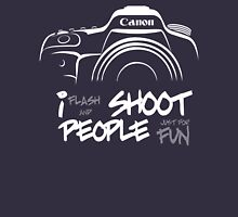 Shoot People for Fun Cartoonist Version (v2) - inverted T-Shirt