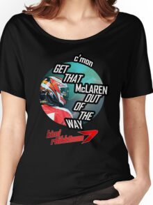 Hilarious Kimi Team Radio - Chinese GP 2015 Women's Relaxed Fit T-Shirt