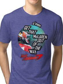 Hilarious Kimi Team Radio - Chinese GP 2015 Tri-blend T-Shirt