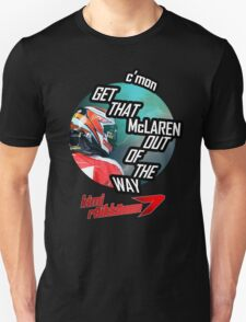 Hilarious Kimi Team Radio - Chinese GP 2015 Unisex T-Shirt