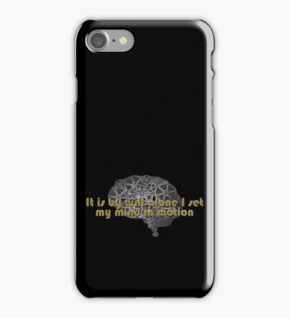 Mentat mantra iPhone Case/Skin