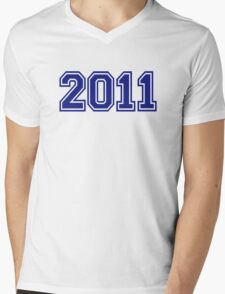 2011 Mens V-Neck T-Shirt