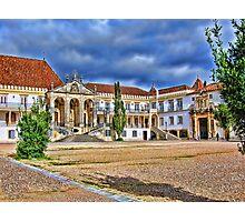 Coimbra University, Coimbra, Portugal Photographic Print