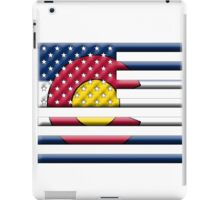 Proud to be a Coloradan! iPad Case/Skin