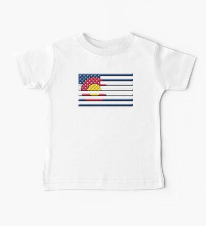 Proud to be a Coloradan! Baby Tee