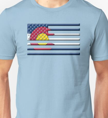 Proud to be a Coloradan! Unisex T-Shirt