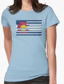 Proud to be a Coloradan! Womens Fitted T-Shirt