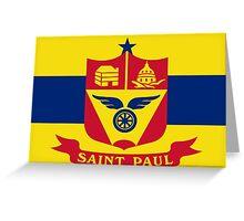 Flag of Saint Paul Greeting Card