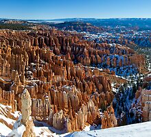 Bryce Canyon II - Panorama by Stephen Beattie