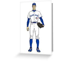Blue Jays Guy Greeting Card