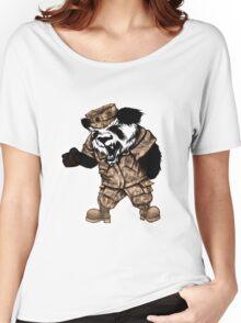Knife-Hand Panda Women's Relaxed Fit T-Shirt