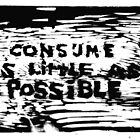 CONSUME AS LITTLE AS POSSIBLE by Anthony DiMichele