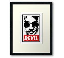 Obey - Daredevil Framed Print