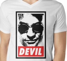 Obey - Daredevil Mens V-Neck T-Shirt