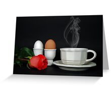 Morning After Greeting Card