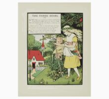 The Mother Hubbard Picture Book by Walter Crane - Plate 32 - Three Bears - Some Time Ago One Piece - Long Sleeve