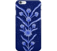 Blue flowers in Chinese vase iPhone Case/Skin