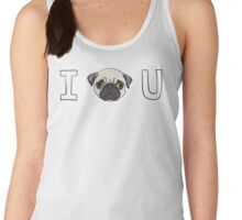 I Pug You Women's Tank Top