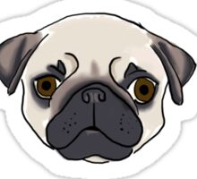 I Pug You Sticker