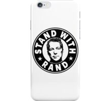 Stand With Rand iPhone Case/Skin