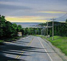 Entrance to Marathon Ontario - view of Hawkins Island by loralea