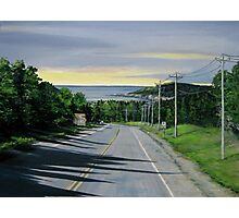 Entrance to Marathon Ontario - view of Hawkins Island Photographic Print