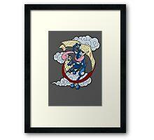 Frog Ninja Arts Framed Print