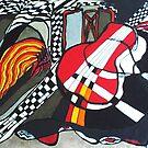 Red Guitar by Carol Berliner