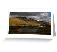 Storm Clouds Over Blencathra Greeting Card