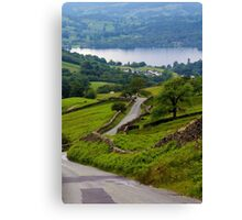 The way to Ambleside Canvas Print