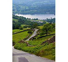 The way to Ambleside Photographic Print