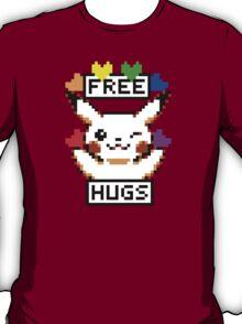 Free Hugs Pikachu T-Shirt