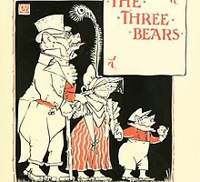 The Mother Hubbard Picture Book by Walter Crane - Plate 29 - Re-Issue Three Bears by wetdryvac