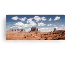 Monument Valley Panorama Canvas Print