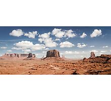 Monument Valley Panorama Photographic Print
