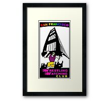 San Francisco WWC Golden Gate Bridge Madness Logo Framed Print