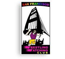 San Francisco WWC Golden Gate Bridge Madness Logo Canvas Print