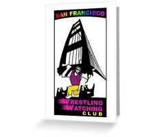 San Francisco WWC Golden Gate Bridge Madness Logo Greeting Card