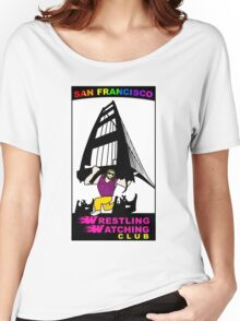 San Francisco WWC Golden Gate Bridge Madness Logo Women's Relaxed Fit T-Shirt
