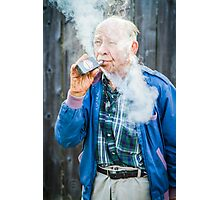 Hans! Vape Like A Boss Photographic Print
