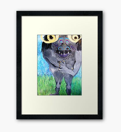 Urgal Framed Print