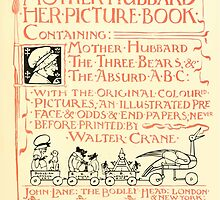 The Mother Hubbard Picture Book by Walter Crane - Plate 05 - Her Picture Book and Containing by wetdryvac