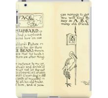The Mother Hubbard Picture Book by Walter Crane - Plate 06 - Preface and Friends iPad Case/Skin