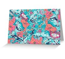 Lilly Pulitzer Maps Greeting Card